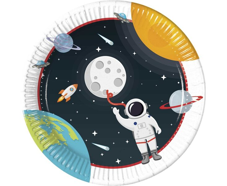 """Šķīvīši """"Astronauts"""", 23 cm"""