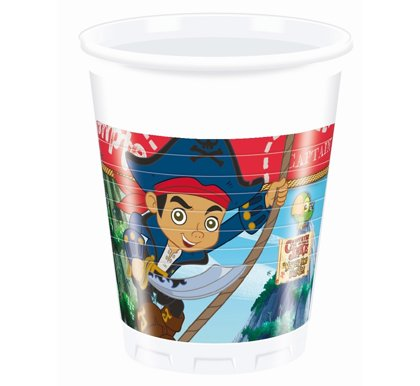 "Glāzes ""Pirāts Captain Jack"", 8 gb, 200 ml"