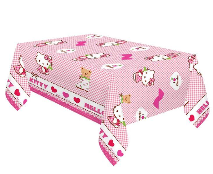 """Tematiskais galdauts """"Hello Kitty"""", 120 x 180 cm"""