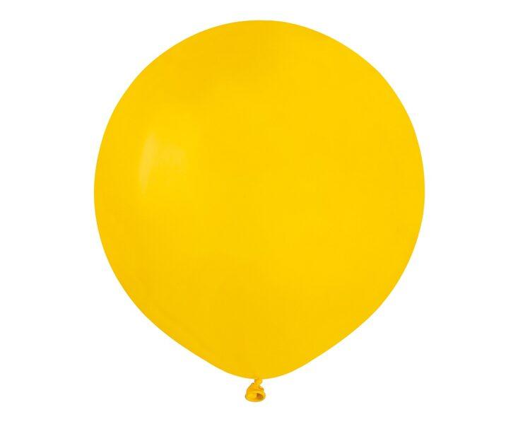 48 cm balons, dzeltenā krāsa - 1 gb.