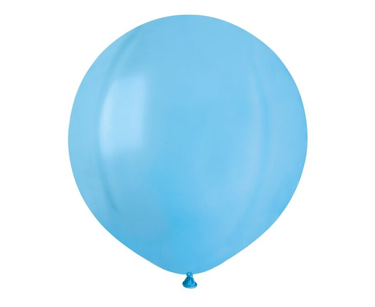 48 cm balons, debess zilā krāsa - 1 gb.