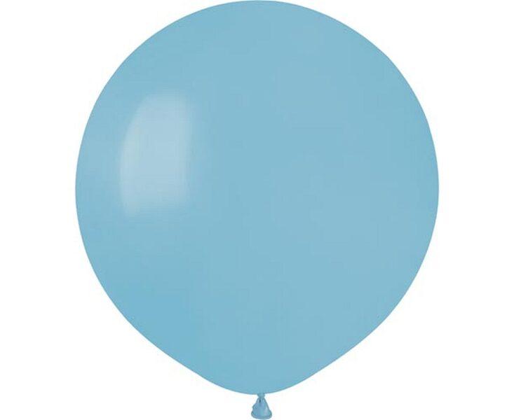48 cm balons, gaiši zilā krāsa - 1 gb.