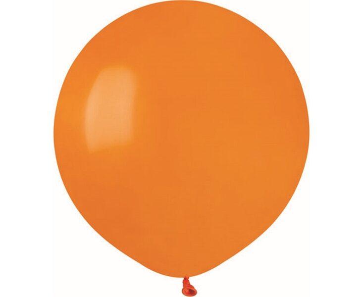 48 cm balons, oranžā krāsa - 1 gb.