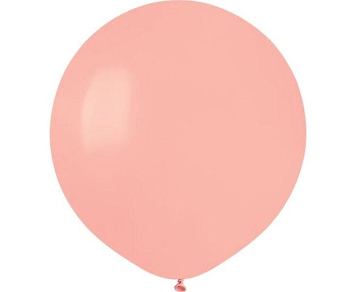 48 cm balons, rozā krāsa - 1 gb.