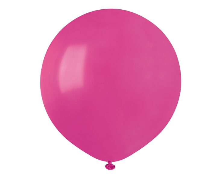 48 cm balons, spilgti rozā krāsa - 1 gb.