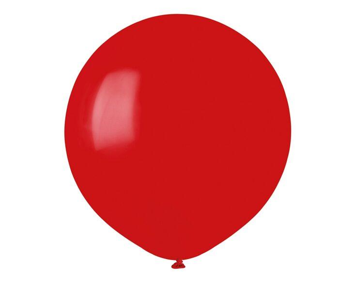 48 cm balons, sarkanā krāsa - 1 gb.