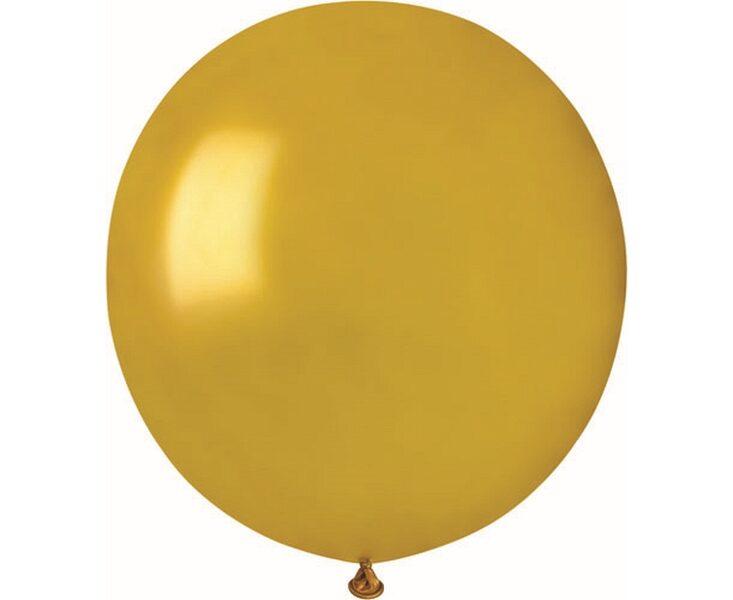 48 cm balons, zelta krāsa, perlamutrs - 1 gb.