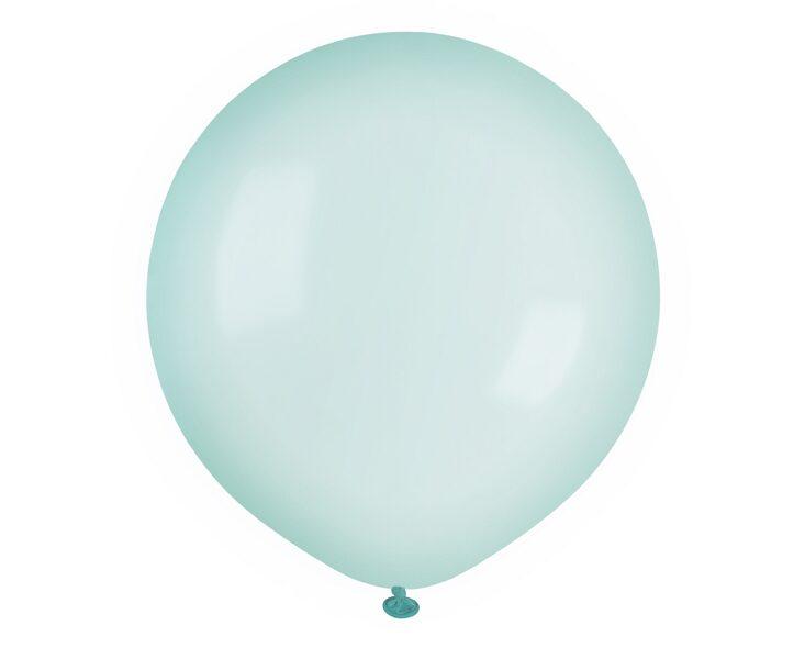 48 cm balons, zaļā krāsa, caurspīdīgs - 1 gb.