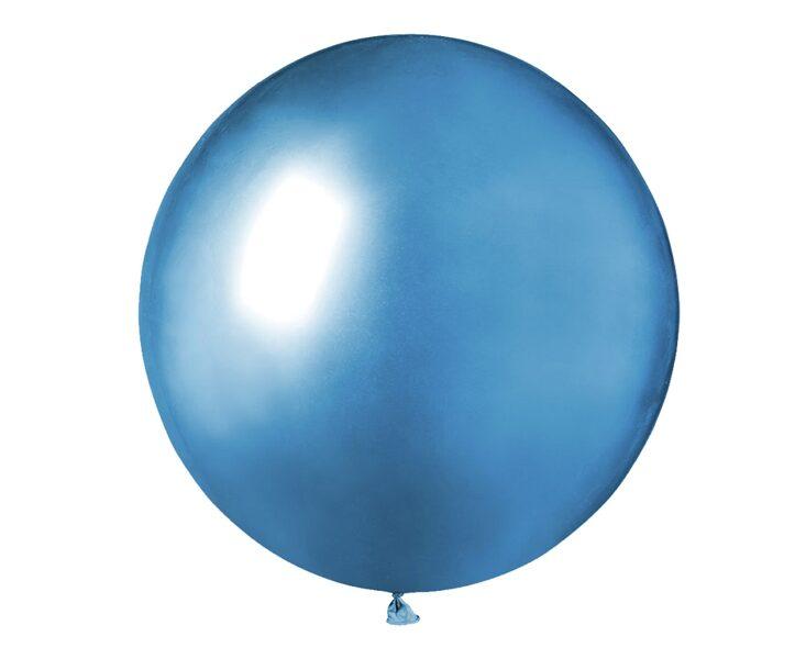 48 cm hromēts balons, zilā krāsa - 1 gb.