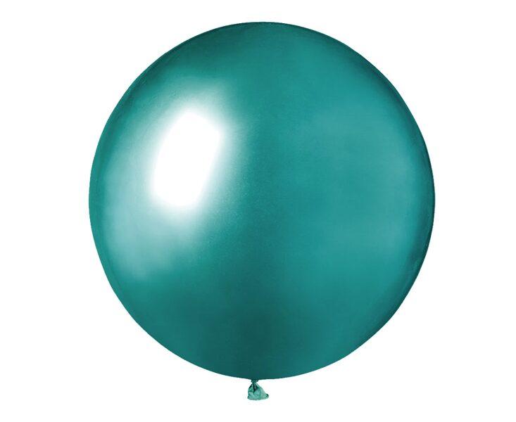 48 cm hromēts balons, zaļā krāsa - 1 gb.