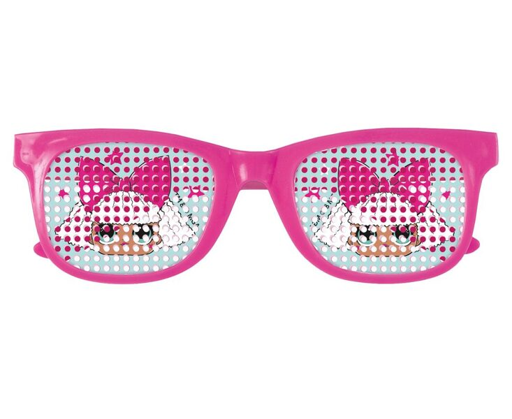 LOL bērnu ballīšu brilles, 4 gb. komplekts