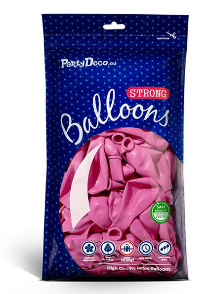 Balonu iepakojums, 100 gb., 30 cm, fuksijas krāsa