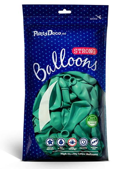 Balonu iepakojums, 100 gb., 30 cm, akvamarīna krāsa