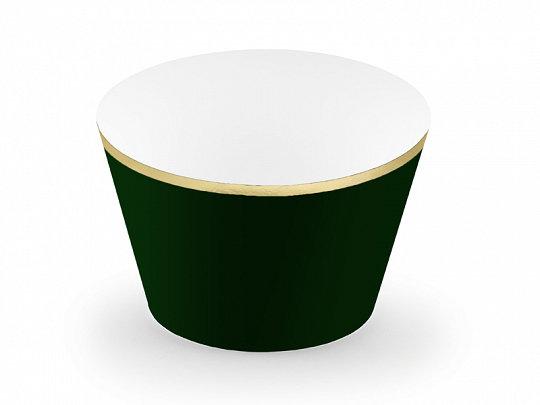 Kūku ietinamais papīrs melnā krāsā ar zelta apmali