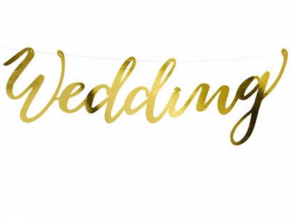 "Baneris ""Wedding"", zelts"