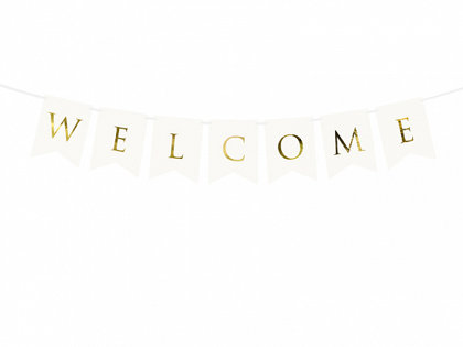 """Baneris """"Welcome"""""""