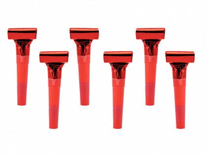 Svilpītes sarkanā krāsā.
