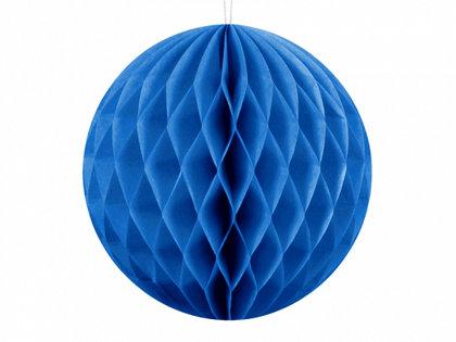 Papīra bumba, zilā, 20 cm