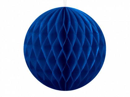 Papīra bumba, tumši zilā, 40 cm