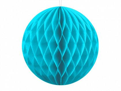 Papīra bumba, tirkīzā, 10 cm