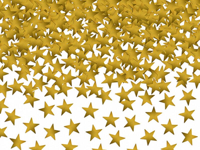 "Konfetti ""Zvaigznes"", zelta krāsa, 30 g"