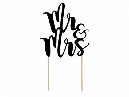 """Kūku toperis """"Mr & Mrs"""", melns"""