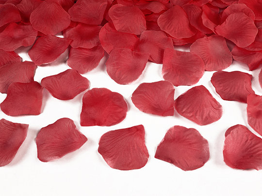 Ziedlapiņas, sarkanā krāsa, 100 gb
