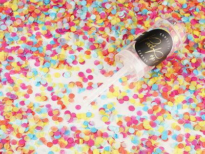Plaukšķne Push Pop ar konfetti, mix