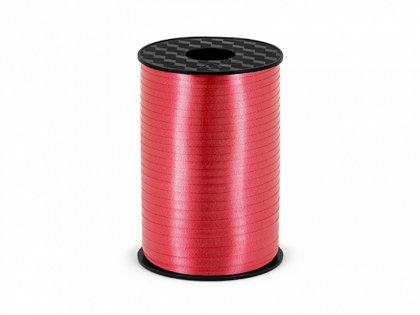 Plastikāta lente sarkanā krāsā, 5 mm, 225 m