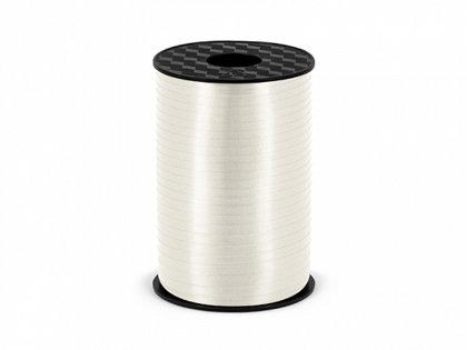 Plastikāta lente baltā krāsā, 5 mm, 225 m