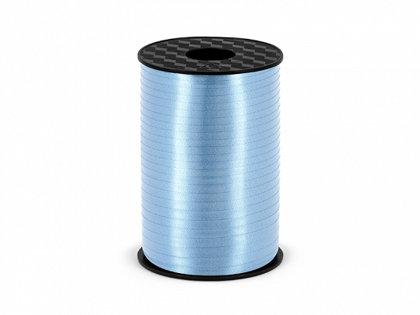 Plastikāta lente gaiši zilā krāsā, 5 mm, 225 m