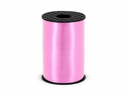Plastikāta lente gaiši rozā krāsā, 5 mm, 225 m