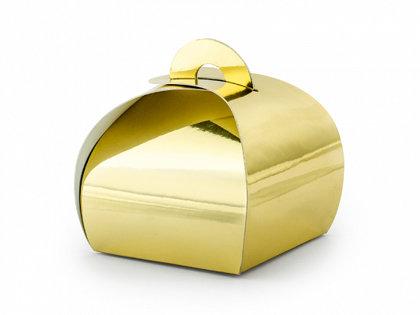 Zelta papīra kastītes