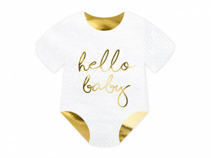 """Salvetes """"Hello Baby"""", 20 gb"""