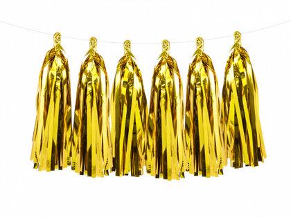 Bārkstis, 12 gb. komplekts, zelta krāsa