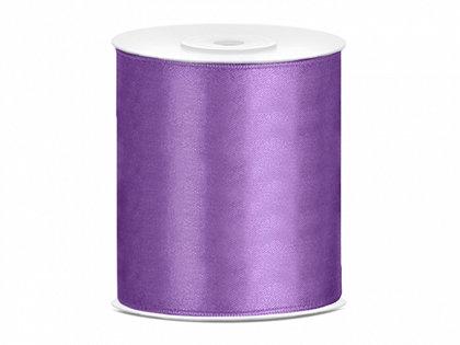 Satīna lenta, lavandas krāsā