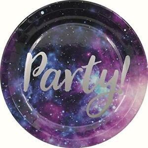 """Šķīviši """"Space Party"""", 8gb., 23 cm"""