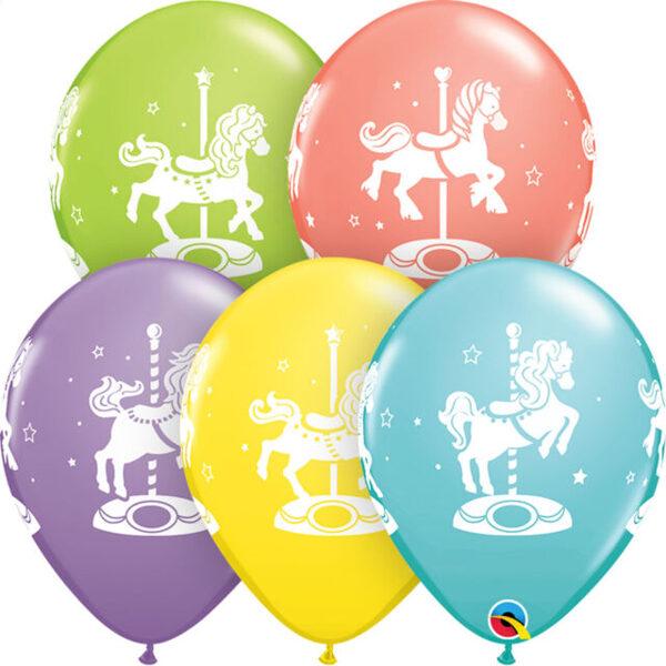 "28 cm lateksa balons ""Zirdziņi"" - 1 gb."