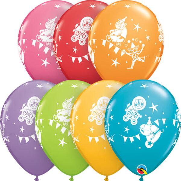"""28 cm lateksa balons """"Cirks"""" - 1 gb."""