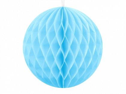 Papīra bumba, debess zilā, 10 cm