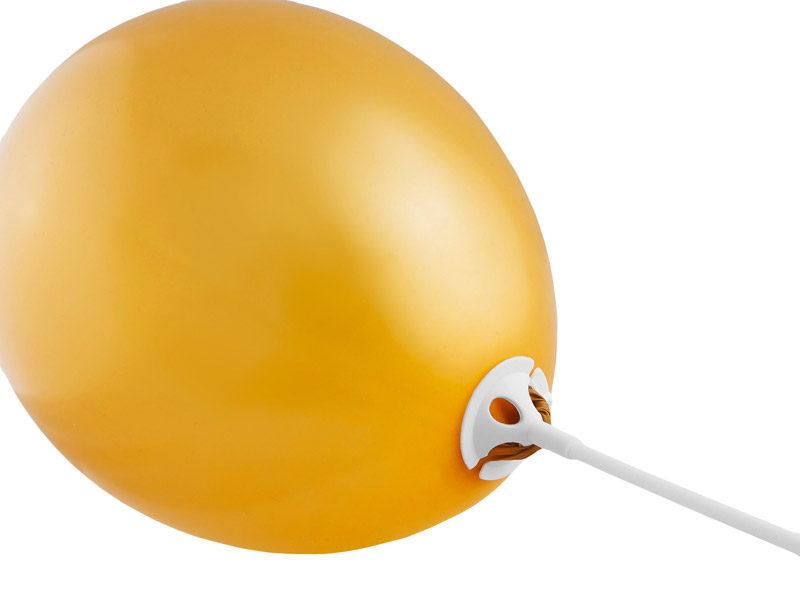 Plastika kātiņš baloniem, 1 gb.