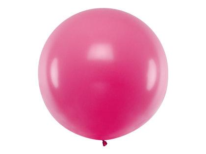1 m balons, apaļš, fuksijas krāsa - 1 gb.