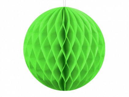 Papīra bumba, zaļā, 20 cm