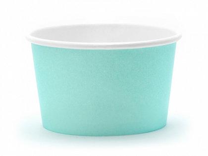 Saldējuma trauks, tirkīzā krāsa, 6 gb., 170 ml