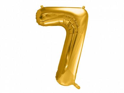 """Folija balons """"7"""", 86 cm, zelta krāsa"""