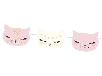 """Virtene """"Kaķīši"""", 140x8,5 cm"""