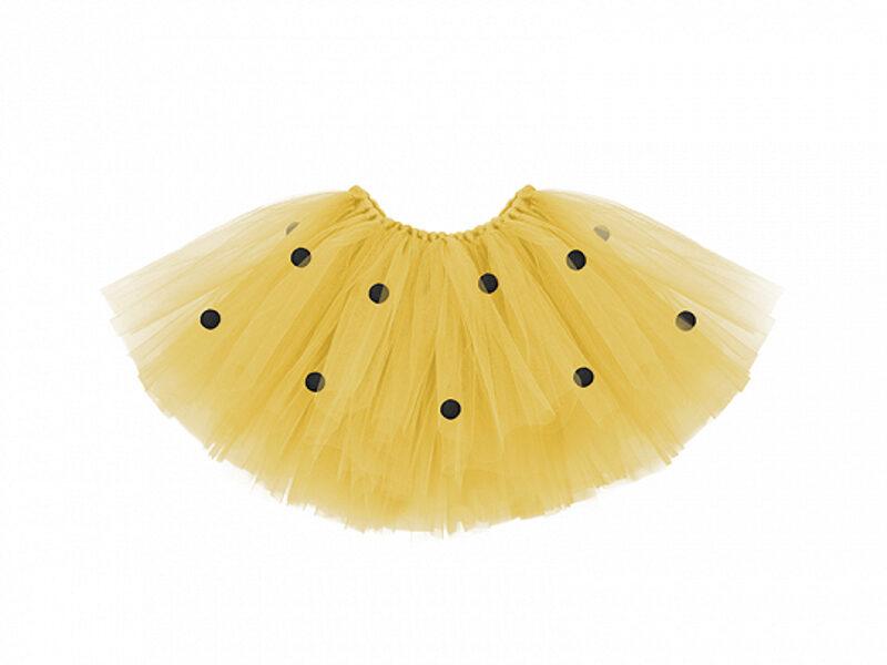 Tutu svarki, dzeltenā ar melniem punktiņiem, 50 x 25 cm