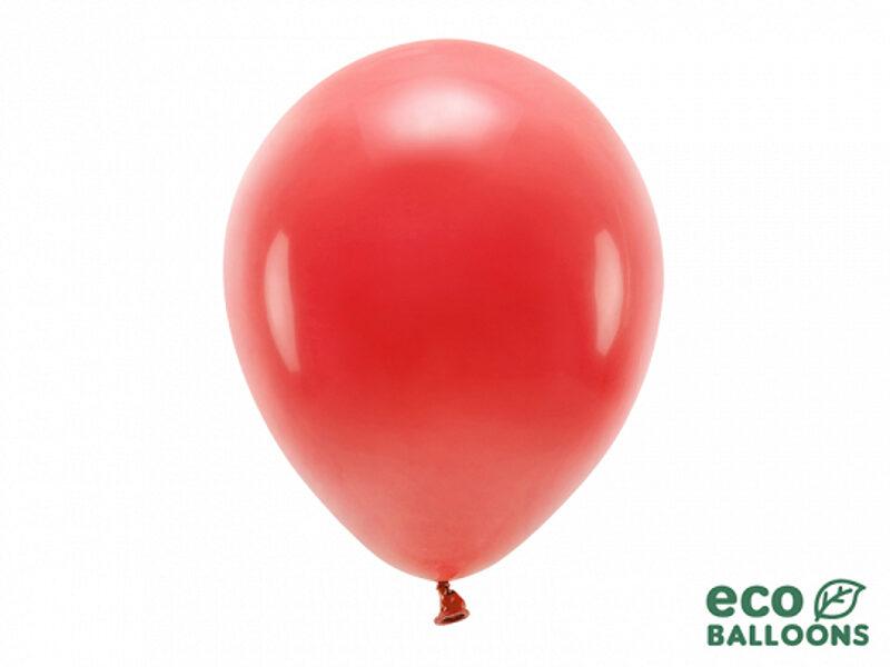 30 cm Eco balons, sarkanā krāsa - 1 gb.