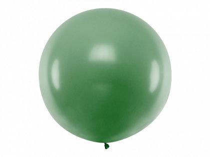 1 m balons, apaļš, tumši zaļā krāsa - 1 gb.