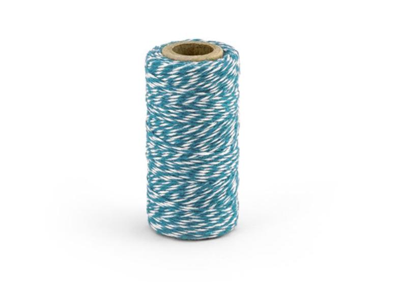 Kokvilnas aukla, zilā krāsa, 50 m